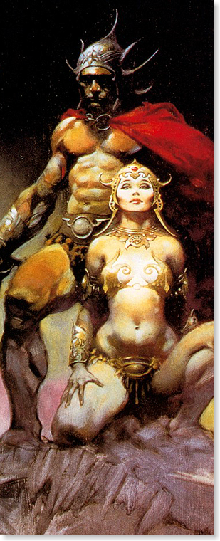 Shop for Frank Frazetta books on Fantasy Art Books & More.